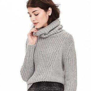 BANANA REPUBLIC mixed stitch chunky knit sweater